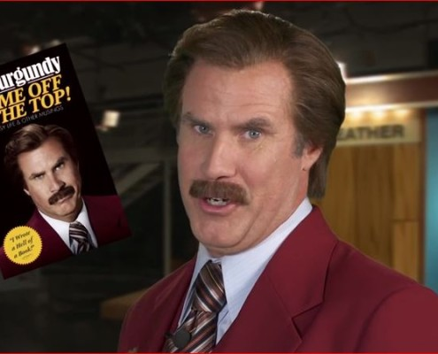Ron Burgundy Book