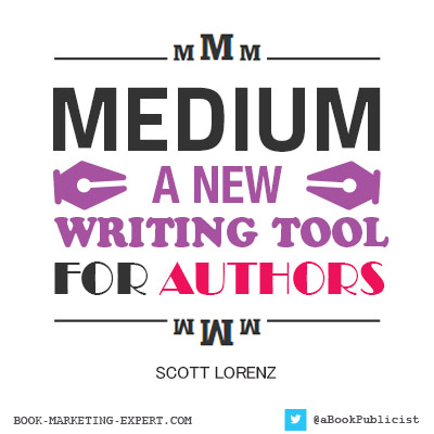 MEDIUM- New Tool For Authors