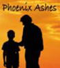 Aime Carter with Father Richard Carter Phoenix Ashes