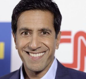 Dr. Sanjay Gupta of CNN